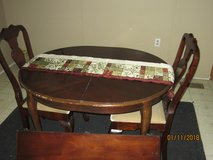 Dining Room Table w/Two (2) Chairs in Fort Rucker, Alabama