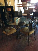 Wrought Iron Ashley Dinette Table and Chairs in Fort Polk, Louisiana