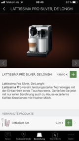 Nespresso Latissima PRO in Ramstein, Germany