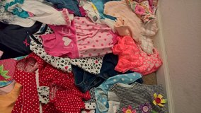 bunches of baby girl clothes in Fort Polk, Louisiana