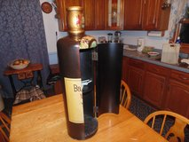 WINE CABINET WOODEN BOTTLE in Orland Park, Illinois