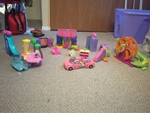 huge lot of Polly pocket toys in Aurora, Illinois