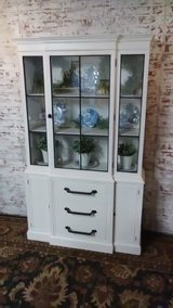 Fixer Upper inspired China cabinet in St. Charles, Illinois
