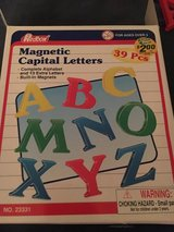 Magnetic Alphabet Letters in Chicago, Illinois