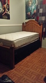 Twin Size Bed Solid Wood in Fort Polk, Louisiana