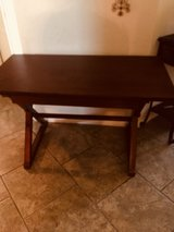 Solid wood desk/crafting table in Spring, Texas