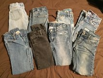 Girls size 7 jeans in Fort Campbell, Kentucky