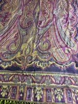 silk shawl from India in Quad Cities, Iowa