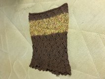 Cowl hand knit in Quad Cities, Iowa
