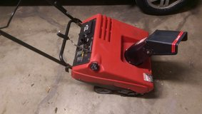 "MURRAY SNOW BLOWER SINGLE STAGE 4.5 HP TWO CYCLE ENGINE 21"" in Schaumburg, Illinois"
