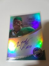 rg3 signed card in Fort Irwin, California
