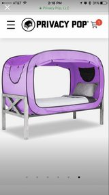 Lavender Privacy Pop Tent in Fort Knox, Kentucky
