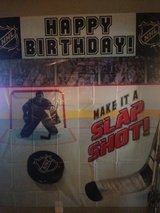 hockey party supplies in Plainfield, Illinois