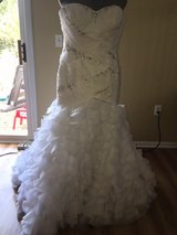sz 14 wedding dress in Aurora, Illinois