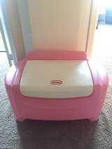 Little tikes pink and white toy box in Travis AFB, California