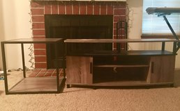 Entertainment center and end table set in Tacoma, Washington