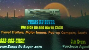 We buy Boats Jet Skis And RV'sCash On the Spot in Kingwood, Texas