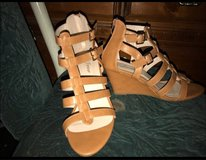 size 9 forever wedges (nude) in Travis AFB, California