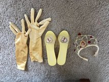 Princess Belle dress and accessories in Plainfield, Illinois