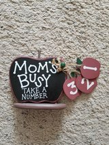 Mom's Busy Sign in Camp Lejeune, North Carolina