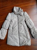 Girls dressy coat size 9-10 like new in Bolingbrook, Illinois