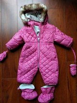 Chicco baby girl snowsuit size 6M in Bolingbrook, Illinois