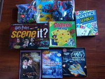 Boys construction and board games lot in Bolingbrook, Illinois