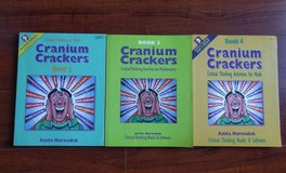 Cranium Crackers Critical thinking in Math Books 2, 3, 4 in Glendale Heights, Illinois