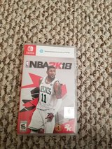 NBA 2k18 nintendo switch in Fort Benning, Georgia