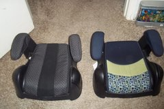 2 Booster Seats in Baytown, Texas