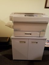 METAL CABINET HOLDING A COPIER in Oswego, Illinois