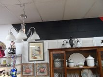 CHANDELIERS CHROME OR BLACK - EACH $45 in Cherry Point, North Carolina