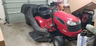 Craftsman 46 inch YS 4500 Riding Lawnmower w/bagger in The Woodlands, Texas