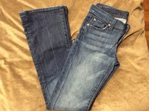 Seven for all mankind bootcut jeans in Okinawa, Japan