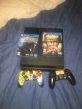 Playstation 4 500 Gigs with 2 games in Beaufort, South Carolina