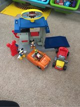 Mickey Mouse garage playset in Fort Knox, Kentucky