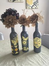 handcrafted decorative wine bottle set in Fort Knox, Kentucky