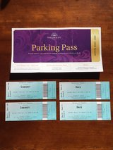 Paramount Theatre two tickets/two shows in St. Charles, Illinois