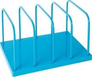 Poppin File Sorter Organizer for Desk - Office Supply (blue) in Bolingbrook, Illinois