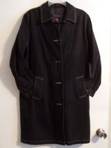 Denim & Co QVC Long Black Lined Button-Up Jacket in Kingwood, Texas