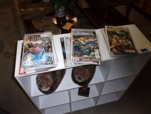 Thirty Two Comic Books in Fort Riley, Kansas