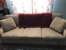 Sofa with chaise lounge option in Lockport, Illinois