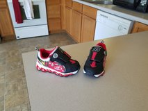Boys size 7c Light up Cars shoes in Fort Polk, Louisiana