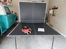 Indoor Regulation-size Ping Pong Table in Byron, Georgia