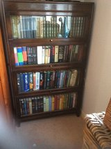 REDUCTION IN PRICE  ANTIQUE( WERNICKE STYLE)  4  TIER BARRISTER/ LAWYER BOOKCASE in Lakenheath, UK
