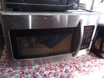 GE Under the Counter Chrome Microwave in Fort Riley, Kansas