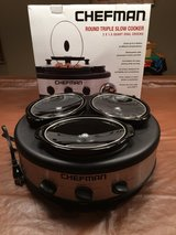 Triple Slow Cooker & Buffet Server in Aurora, Illinois
