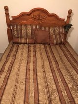 Queen bed, chest and tv stand in Eglin AFB, Florida