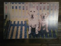Dog painted canvas in Cleveland, Texas