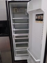 GE stainless steel refrigerator in Tinley Park, Illinois
